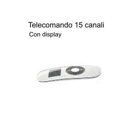 Radiocomando Wireless 15 canali