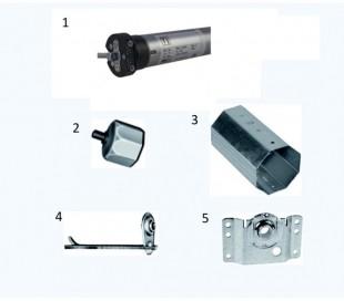 Kit Ferramenta + Motore domoself
