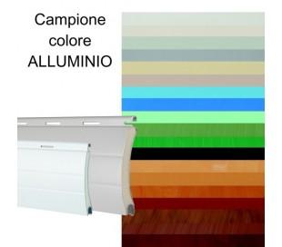 Campione colore ALLUMINIO