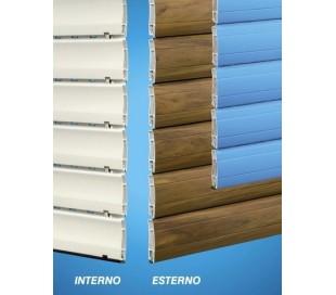 Tapparella in PVC + Fibra di Vetro bi-colore
